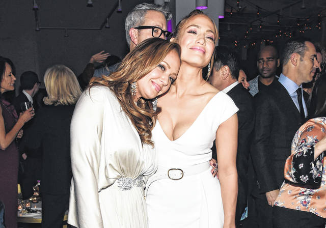 Leah Remini and Jennifer Lopez attend the 'Second Act' World Premiere After Party at West Edge on December 12, 2018 in New York City.