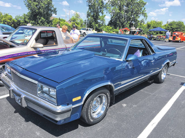 Don Burns, of Celina, owns this 1987 Chevy El Camino and enjoys bringing it to car shows.
