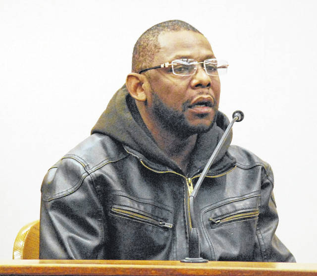 Leonard Bingham, 51, of Lima, took the witness stand Tuesday in Allen County Common Pleas Court during a motion asking the court to allow him to withdraw previous pleas of no contest to four felony drug and weapons charges. A ruling on the motion is expected later this month.