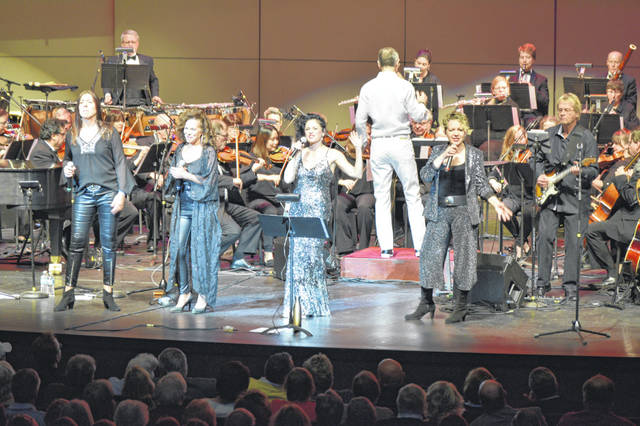 Lima celebrated New Year's Eve with the music of ABBA in a concert at the Veterans Memorial Civic Center.