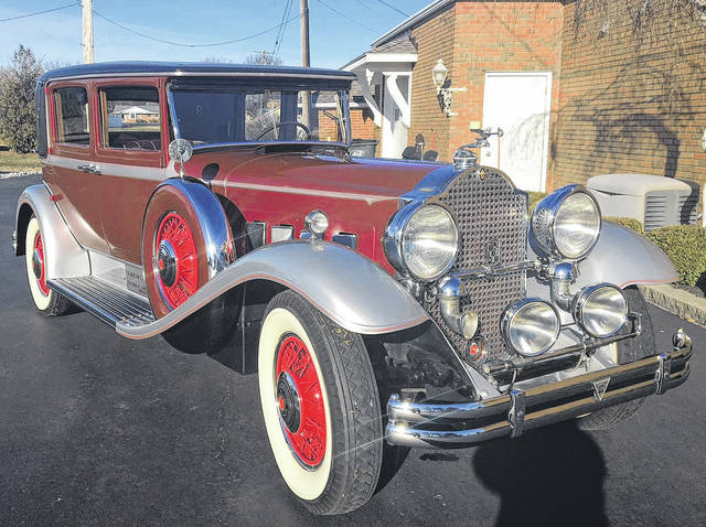 <strong>No. 2: 1931 PACKARD SUPER 8 CLUB SEDAN — </strong>Owned by Thomas E. Bayliff, of Spencerville, and his brother, Bud Bayliff, since 1973. Originally purchased new from the Johnson Packard Motor Company in Lima.