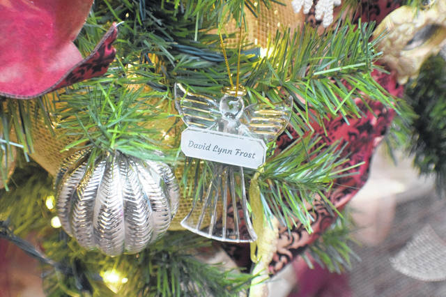 Angel ornaments were given out to be placed on the Tree of Remembrance or taken home.