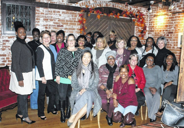 Roughly 25 women attended the kick-off meeting of the Women's Leadership Collective held this past November.