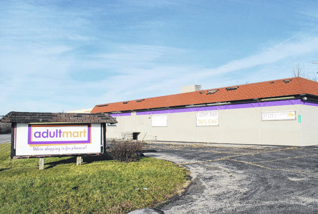The Adultmart adult video store at 1406 Elida Road was the site of an armed robbery shortly before midnight on Sunday. Two men brandishing handguns entered the store, demanded money and fled in a van that was found to have been stolen earlier in the day from the Rally Point Youth Center in Lima. The van was abandoned shortly after the incident. Police are looking for three men believed to have been involved in the robbery.