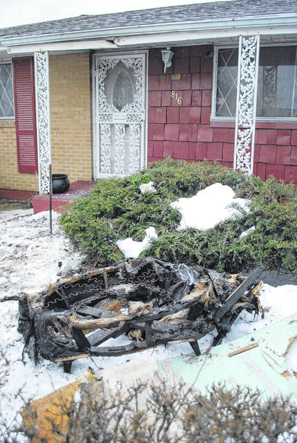 The exterior of a home at 816 Cornell Drive in Lima shows little evidence of a fire, but two occupants of the home were taken to a Lima hospital early Thursday morning after being found unconscious inside the smoke-filled residence.