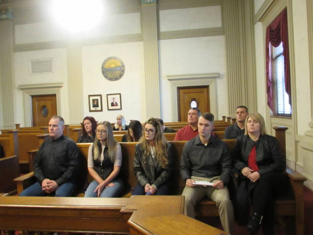 Relatives of Phyllis Campbell attended Friday's hearing at the Putnam County courthouse and read victim impact statements.