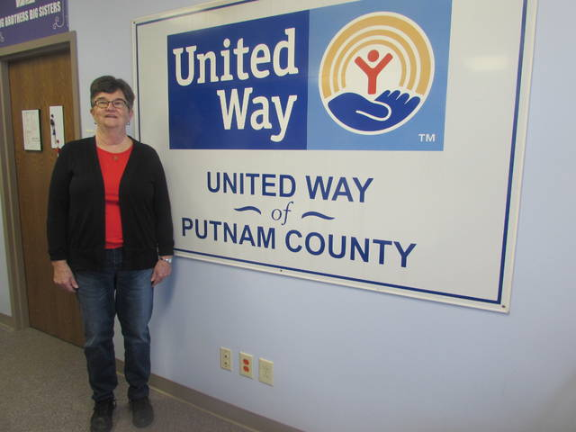 Ottoville resident Marilyn Calvelage received the 2018 United Way of Putnam County Volunteer of the Year Award.