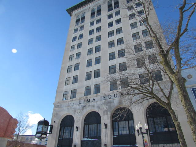 Developers expect the 43 Town Square property to be ready for tenant move-in by March. Mackenzi Klemann | Lima News.
