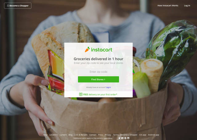 Online grocery delivery service Instacart is now serving the Lima area. The service works with retailers like Meijer, Sam's Club and CVS to deliver groceries to customers' homes.