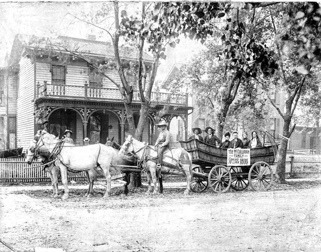 This photo of the wagon is from 1908.