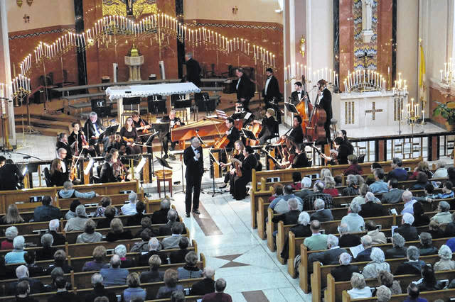 The Lima Symphony Orchestra's Mozart by Candlelight concerts will feature a soloist this year.