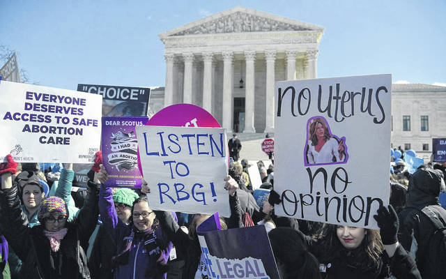 There are four venues where the debate over reproductive health services for women will play out in 2019. (Olivier Douliery/Abaca Press/TNS)