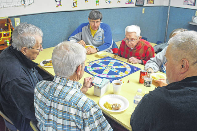 Trivial Pursuit is one of the popular board games that is played on the Lima Area Gamers Board Game Night on the first Saturday of the month at Lima Mennonite Church.