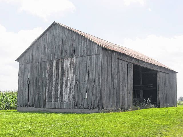 James and Sophia Clemens' barn still stands.