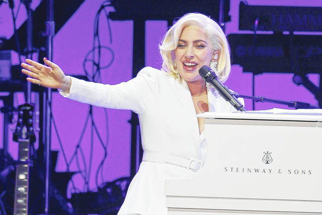 Lady Gaga performs in October 2017 in College Station, Texas. The Recording Academy's Task Force on Diversity and Inclusion is a launching a new initiative announced Friday to create and expand more opportunities to female music producers and engineers. More than 200 musicians, labels and others have already pledged, including Lady Gaga, Justin Bieber, Pearl Jam, Pharrell and Ariana Grande.