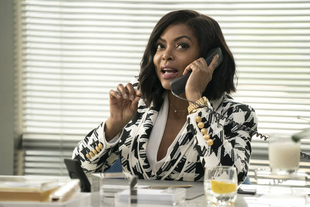 """This image released by Paramount Pictures shows Taraji P. Henson in a scene from """"What Men Want."""" (Jess Miglio/Paramount Pictures via AP)"""