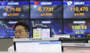 World stocks mostly rise ahead of more China-US trade talks