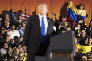 Trump sees 'new day' for Latin America at Miami rally