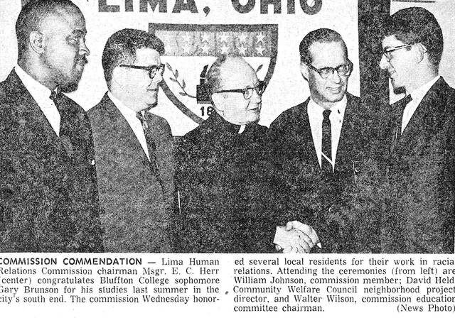 This clip from 1966 shows Human Relation Commission members William Johnson, Msgr. E.C. Herr and Walter Wilson.