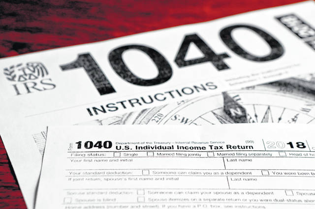 People in the region filing their 1040 tax forms may discover a smaller refund than they've seen in the past. Most people also saw their take-home pay increase earlier in the year with a tax overhaul.
