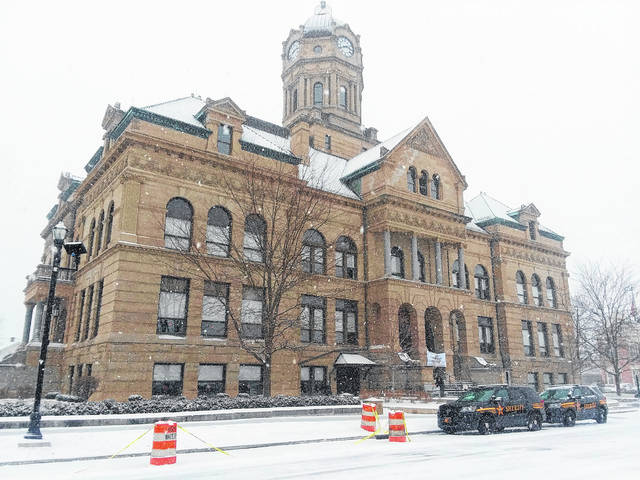 Ceremonies were held Sunday at the Auglaize County Courthouse, marking its 125th anniversary.