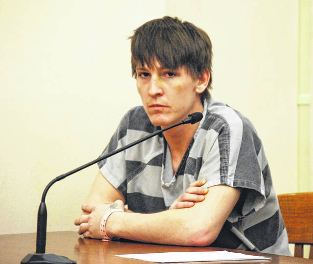 Derek Kitchen, 26, of Lima, entered a plea of not guilty Wednesday to a charge of involuntary manslaughter and other counts related to the September 2018 death of Shawn Hutchinson at a Lima homeless shelter for men. Hutchinson died of a drug overdose, and Kitchen is one of two persons charged with providing the heroin that caused his death.