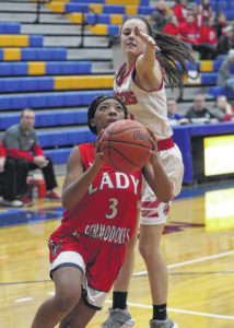 Girls basketball: New Knoxville records victory against Perry