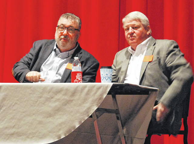 Lima Sr. students learn from business leaders