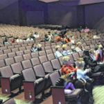 Small crowd for 'Peg + Cat' at Civic Center