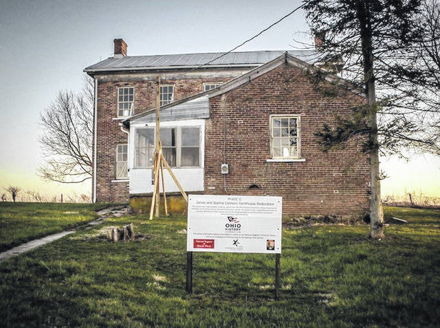 The homestead of James and Sophia Clemens is on Stingley Road west of Greenville, near the Ohio-Indiana state line. James Clemens, who was of mixed-race ancestry, bought 390 acres in 1818.
