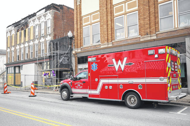 Wapak recovers from fire
