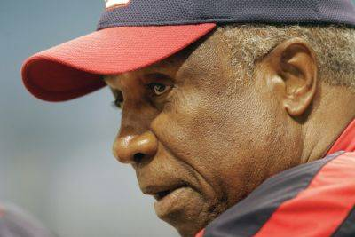 After his Hall of Fame career, Frank Robinson became the first manager in Major League Baseball when he was hired by the Cleveland Indians in 1975.