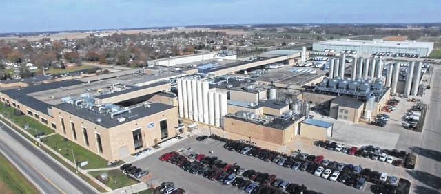 The Minster Dannon plant is part of Danone North America, which was formed in 2017 when Danone acquired WhiteWave Foods.