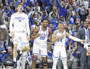 Duke, America's brackets survive