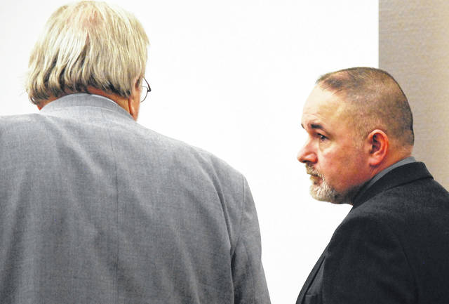 Gilbert Frew, a firefighter with the City of Lima who is charged with two counts of gross sexual imposition for allegedly groping two young girls, will take the witness stand in his own defense when his jury trial resumes Wednesday morning.