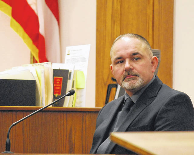 Gilbert Frew, a firefighter with the Lima Fire Department, testified on his own behalf Wednesday as the final witness in his jury trial. After more than eight hours of deliberation, jurors found Frew not guilty of one count of gross sexual imposition and could not come to a unanimous decision on an identical count, leading to a mistrial.