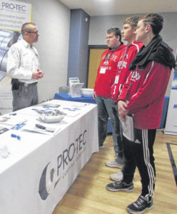 Students learn about Putnam County job opportunities