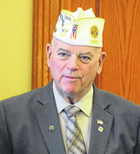 "Robert ""Bob"" Schmitt, Department Commander Ohio American Legion was the keynote speaker at the 100th Anniversary Celebration of The American Legion in Bluffton."