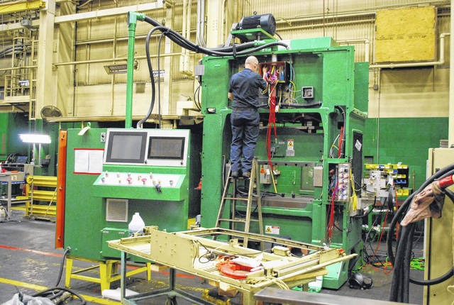 The average cost of the manufacturing presses built at Nidec/Minster Machine Corp. is $1 million.