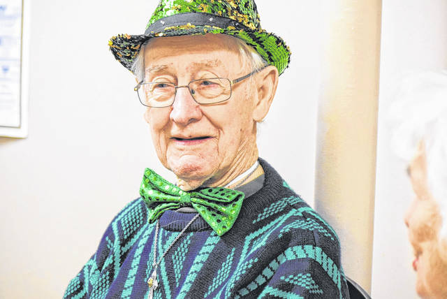 Tim Casey is this year's Lima Irish Parade Grand Marshal. The parade is scheduled for Noon Saturday beginning at North Main Street and Robb Avenue.