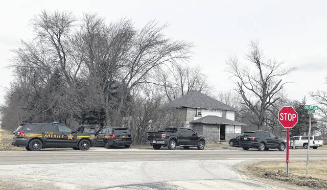 Tommy Searles, 56, was taken into custody Thursday after Van Wert County sheriff's deputies executed a search warrant at this rural Ohio City home.
