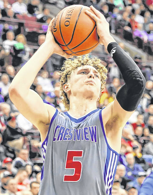 Crestview's Javin Etzler will be playing for Miami (Ohio) beginning next season.