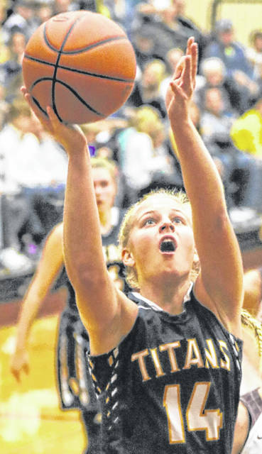 Ottawa-Glandorf's Erin Kaufman was second-team All-Ohio in Division III and the Western Buckeye League Player of the Year this past season.