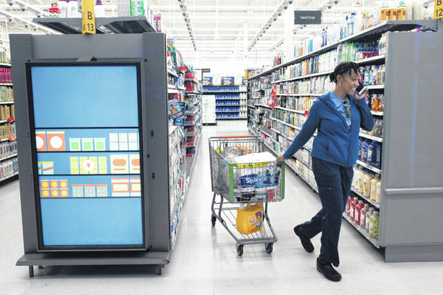 Walmart experiments Using AI to Track stores