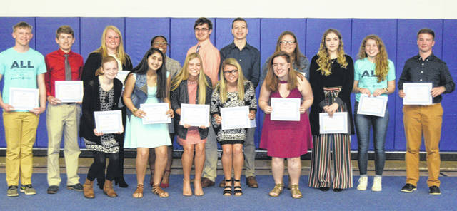 The 2019 ALL Lima Leadership Youth class had its graduation Wednesday at Husky's recreation hall.
