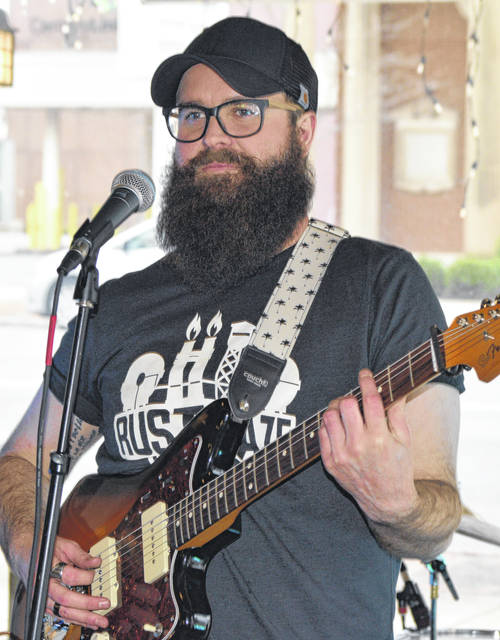 Logan Ross released his first album Saturday night in Lima.