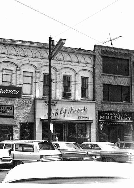 The Ark of Sweets closed May 27, 1978. It was on West High Street and later in a building in the northeast quadrant of the Public Square.