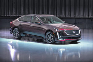 Cadillac CT5 sedan chases younger buyers