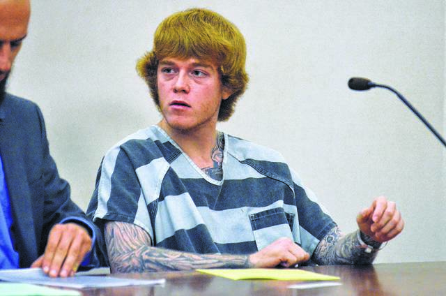Brady Hoop, shown here in a 2015 picture from Allen County Common Pleas Court, died in April 2017 from a drug overdose while inside the Allen County Jail.