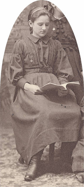 Medora Freeman would become the first librarian of Lima's public library, which opened in September 1901. Prior to that time, book collections were housed by private groups and churches and access was limited.